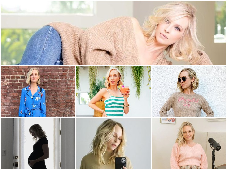 Candice King BioGraphy BackCover