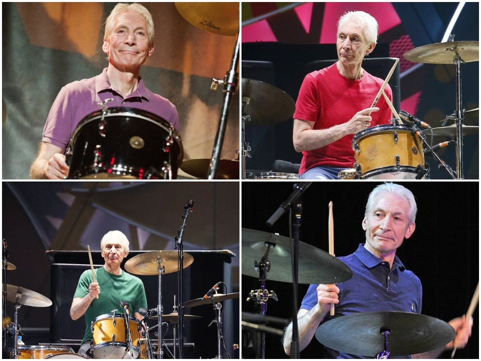 Charlie Watts BioGraphy Cover