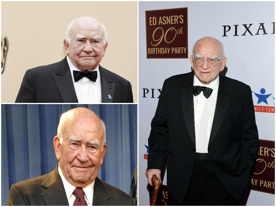 Ed Asner Biography Cover