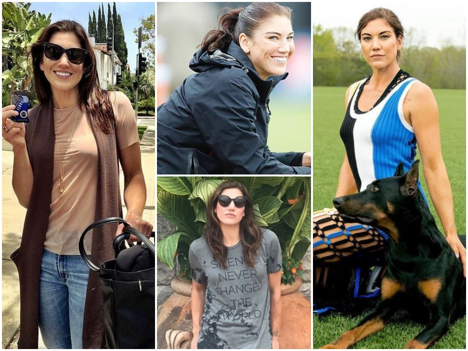 Hope Solo BioGraphy Pic
