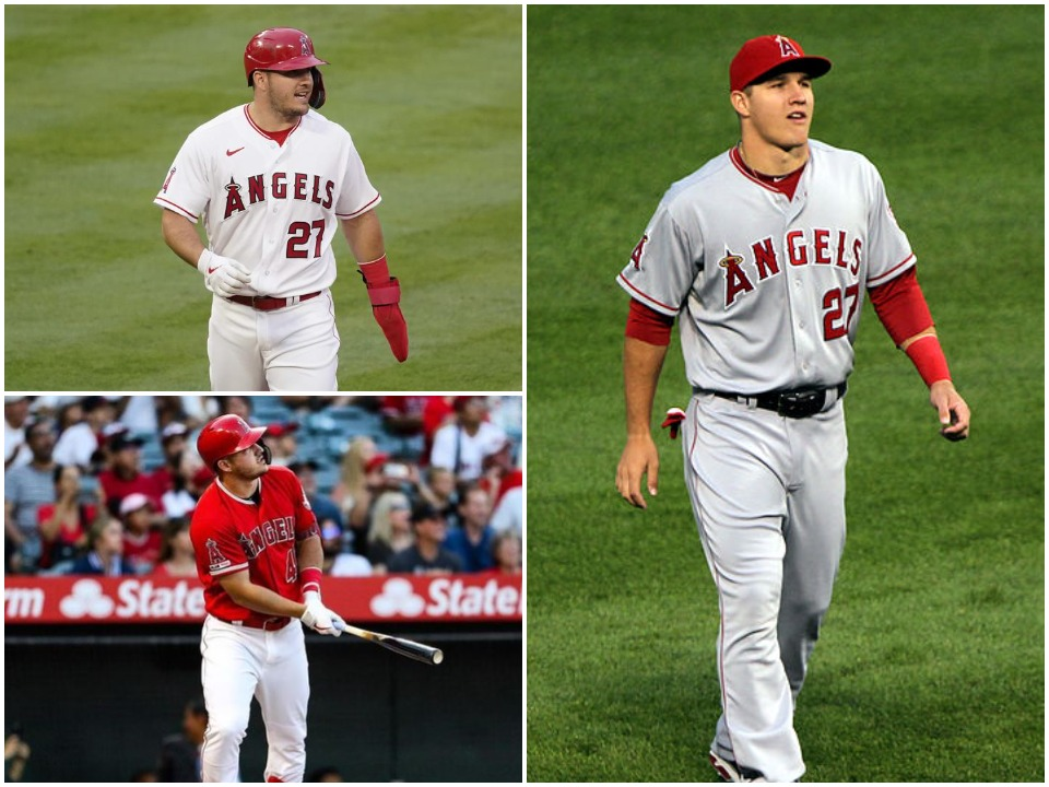 Mike Trout BioGraphy Cover