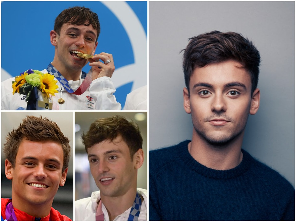 Tom Daley BioGraphy Cover
