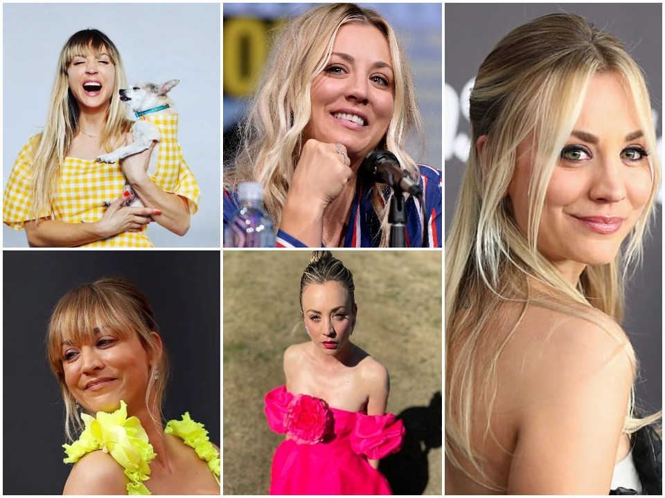 Kaley Cuoco BioGraphy Cover